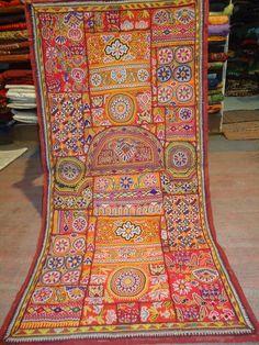 katchi textiles/vintage mirror work and by jaisalmerhandloom, $299.00