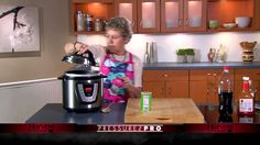 Grandma cooks one of her favorite dishes in the Pressure Pro. The BBQ Coca-Cola recipe has been served to her children and grandchildren for years and the be...