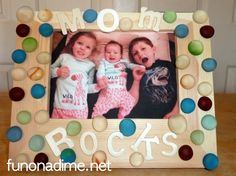 Creative Picture Frames for Mother's Day | Fun On a Dime