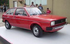 Volkswagen Gol - Primeira Geração (1980). Confira notícias sobre o mundo automotivo: https://www.consorciodeautomoveis.com.br/informacoes-consorcio-automoveis?utm_source=Pinterest