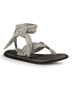 319f91653a1104 Look what I found on  zulily! Sanuk Heather Gray Yoga Slinged Up Sandal -