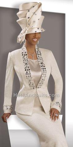Donna Vinci KNITS Women Church Suit 2902