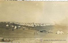 MILITAR. MARRUECOS. CAMPAMENTO DE REGULARES. HACIA 1925. - Foto 1