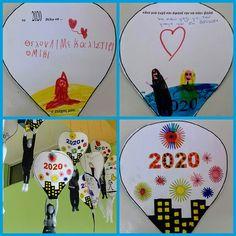 παιχνιδοκαμώματα στου νηπ/γειου τα δρώμενα: οι στόχοι μας για 2020 !!! New Year's Crafts, Happy New Year, Playing Cards, School, Winter, Winter Time, Playing Card Games, Happy New Year Wishes, Game Cards