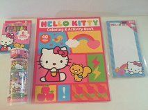 Hello Kitty Coloring Fun Activity Bundle 4 Items 40 Page Coloring Book 8pk Jumbo Crayons Magnetic List Pad Mini Color Roll 9 long * Click on the image for additional details.Note:It is affiliate link to Amazon.