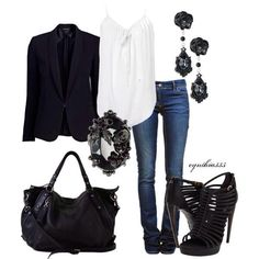 Bad Girl Outfit for clubbing or going to the bars with the ladies....