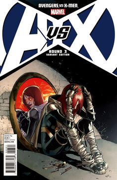 Avengers Vs. X-Men # 3 (Variant) by Sara Pichelli