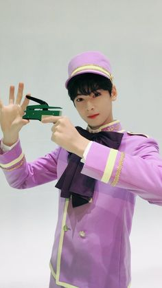 "Eunwoo in Hello Venus's MV ""Mysterious"""