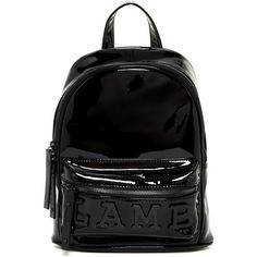 51b1846e170b L.A.M.B. Imen Patent Leather Backpack (710 SAR) ❤ liked on Polyvore  featuring bags