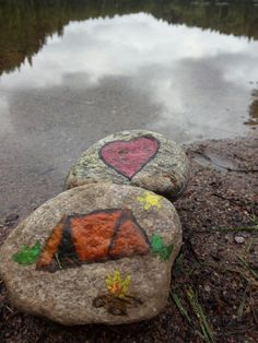 Painted rocks
