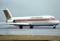 N1308T Continental Airlines McDonnell Douglas DC-9-31