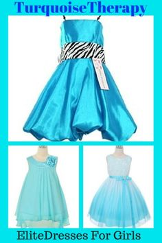 Ideal Dresses for a color themed weddings. Turquoise is the most popular color for Summer Weddings. Save up to 50% off retail price. Variety of styles to choose from. Shop Now at EliteDresses.com