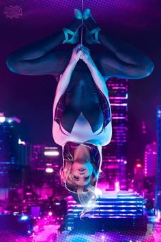 Spider Verse Gwen - - Spider Verse Gwen Spider gwen cosplay Spider Verse Gwen sold by Danielle's Print Store on Storenvy Marvel Girls, Marvel Art, Marvel Heroes, Marvel Avengers, Spiderman And Gwen, Amazing Spiderman, Wallpaper Animé, Marvel Wallpaper, Gwen Stacy