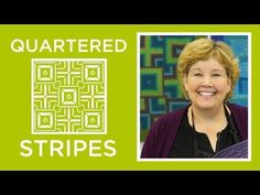 The Quartered Stripes Quilt (Missouri Star Quilt Company - YouTube)