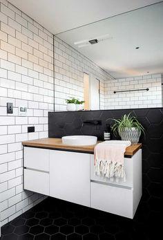 Armário de banheiro suspenso branco