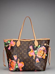 My mom is the best. Although, realizing I could pay multiple months worth of rent with my bag.   Louis Vuitton Louis Vuitton Stephen Sprouse Monogram Graffiti Tote