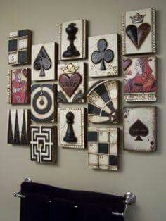 I want this in my bathroom or room..great idea! Dre