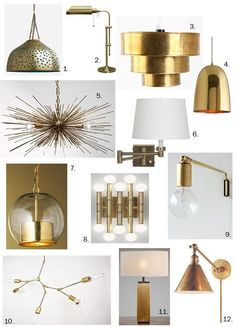Ranging from pristine and brilliant to aged, rubbed, and patinated, brass is the metal of many faces. Regardless of which finish you prefer, brass lighting is always an easy choice for a chic, eye-catching look.