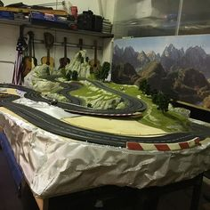 molettaring  slot car  work in progress