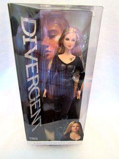 Barbie Divergent Tris Black Label Doll Collector Series  #Mattel #DollswithClothingAccessories