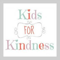 Kids for Kindness G+ Community: A Year of Family Centered Random Acts of Kindness.