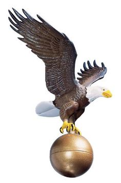Patriotic American Eagle Flag Pole Ornaments Are Great Ways To Decorate Your Home Or Also