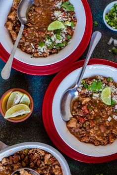 Save the recipe! Slow Cooker Chili, Best Dishes, Recipe Of The Day, Curry, Ethnic Recipes, Food, Curries, Essen, Meals