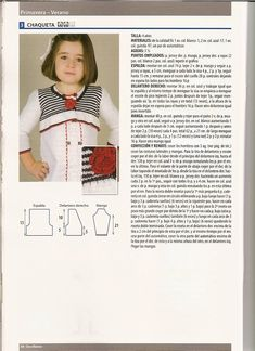 SOLO ROPITA DE BEBE EN PUNTO, GANCHILLO Y TELA (pág. 772) | Aprender manualidades es facilisimo.com Lana, Knitting, Fashion, Dresses, Sweater Vests, Fabrics, Tricot, Fashion Styles, Stricken