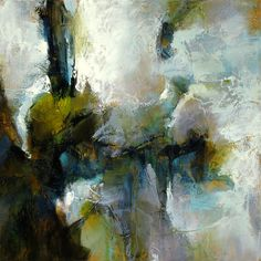Chuck Gumpert, Piercing Austerity, abstract painting, abstract expressionism.