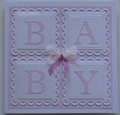 New Baby card | docrafts.com