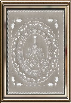 parchment craft christmas pattern - Google Search