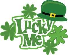 Lucky Me SVG Scrapbook Collection st. patricks day svg files for scrapbooking cute svg cuts
