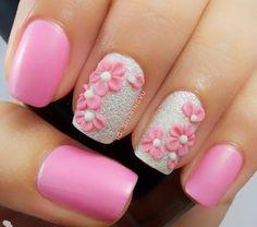 Lovely spring nails