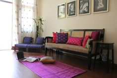 Vibrant Indian Homes - Home Decor Designs Home Decor Inspiration, Indian Home Decor, Home N Decor, Indian Furniture, Living Room Decor, Home Decor, Indian Homes, House Interior, Home Decor Furniture
