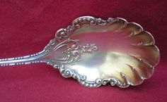 Vintage Silver Preserves Spoon York Pattern by 4HollyLaneAntiques, $38.00