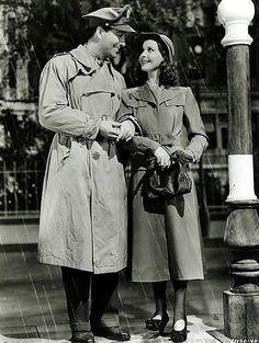 Vivien Leigh and Robert Taylor for Waterloo Bridge, 1940.