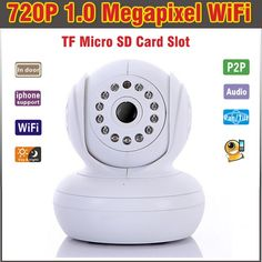 69.99$  Buy here - http://alirqn.worldwells.pw/go.php?t=1670190522 - Wireless IP Camera WIFI Night Vision Intdoor 720P CCTV Camera IP HD Security Camera Video Surveillance Camera 2 Audio Pan Tilt