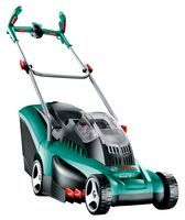 Bosch Lawnmower No Cable No Petrol This Mower Has The Power Of An Electric Lawn Mower But With All The Ad Lawn Mower Garden Accessories Cordless Lawn Mower