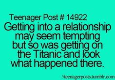 Haha I should remember this next time I see a couple