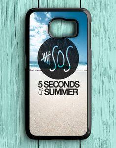5 Second Of Summer Beach Samsung Galaxy S6 | Samsung S6 Case