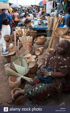 Tamale central market, Ghana