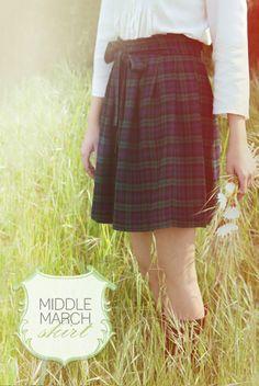 An amazing tartan skirt.