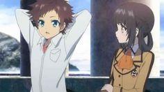 Hikari and Miuna        ~Nagi no Asukara