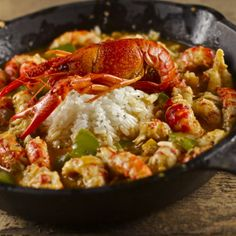 Spicy Cajun Crawfish Etouffee.......looks delicous.....hubby will be busy cooking lol