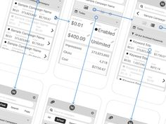 Traffic Platform - Mobile Wireframes (@2x)