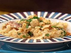 Grilled Chicken-and-Bacon Mac 'n' Cheese