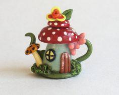 Miniatura ratón de mamá con bebé en cochecito por ArtisticSpirit