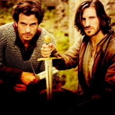 Lancelot and Gwaine <3