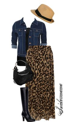 """""""Black Leopards"""" by snickersmama ❤ liked on Polyvore @Mommy Mohr this one's for you......"""