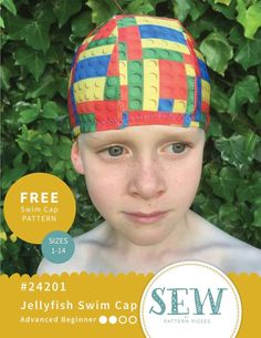Free Download Kids Patterns, Pdf Sewing Patterns, Sewing Tutorials, Sewing Crafts, Sewing Projects, Dress Making Patterns, Swim Caps, Love Is Free, Baby Kids Clothes